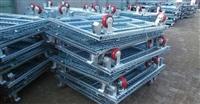 江阴重型可折叠仓储笼批发 皓盛采用多点焊接技术更牢固 承载量大
