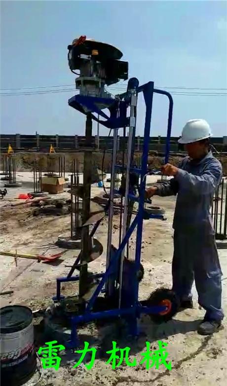 加速完成管桩清理作业-桩芯取土机