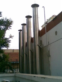湖南附壁式不锈钢烟囱厂家价格