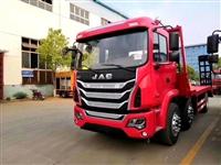 解放平板运输车 解放15吨挖机运输车
