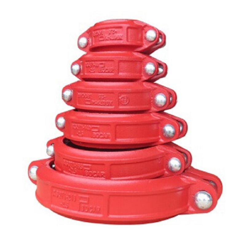 鸿安 沟槽卡箍/抱箍 规格:φ108