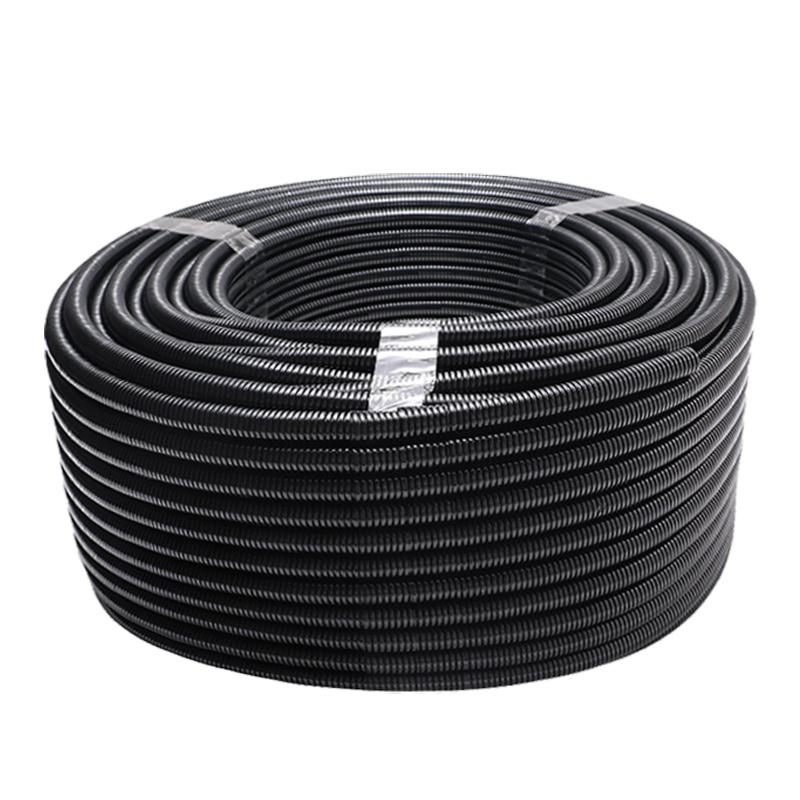 联顺 PVC穿线波纹管 规格:直径:DN32;颜色:黑
