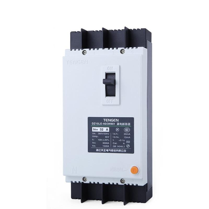 天正 塑壳断路器 极数:1P+N;电流规格:40A