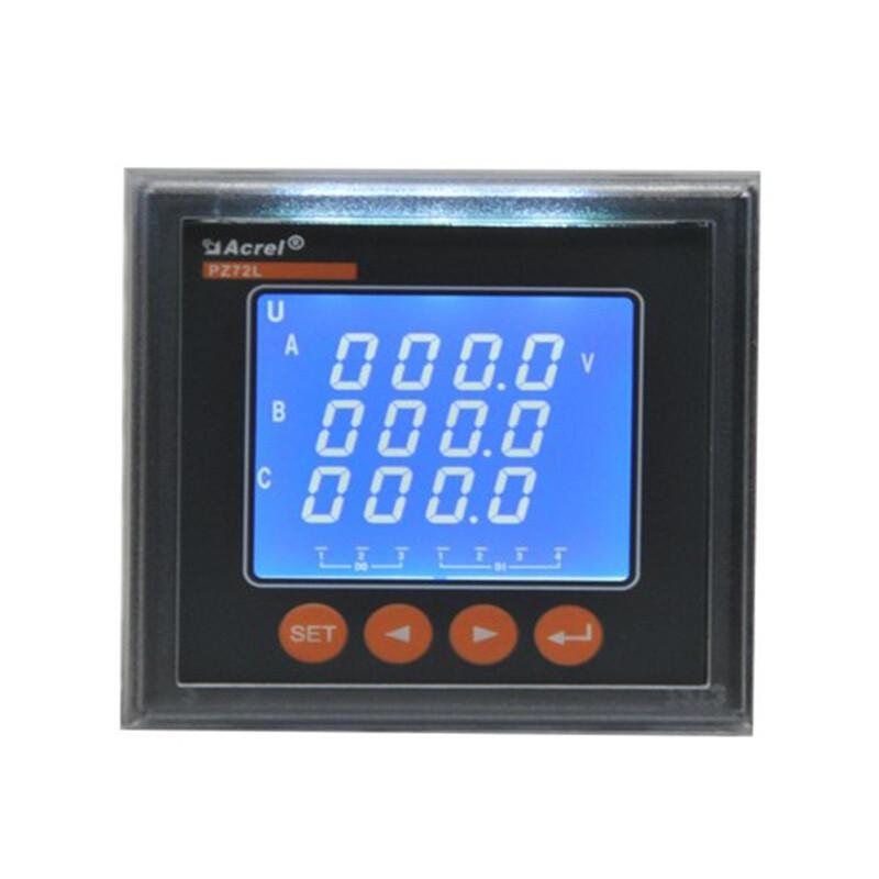 安科瑞 多功能电表 380V PZ72L-E4/C