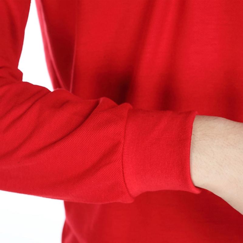 涤棉长袖夏季工作服