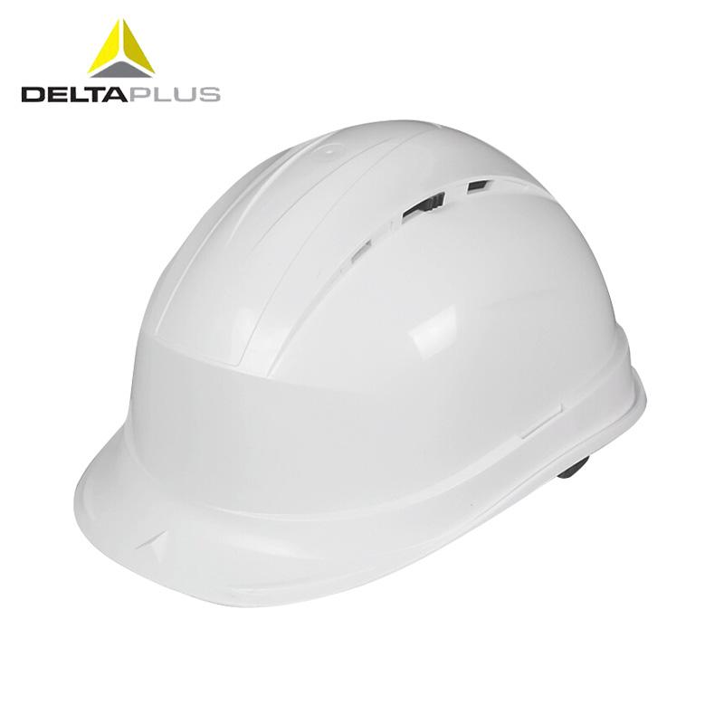 代尔塔 通风款PP安全帽 102012 白色/蓝色/黄色/红色/橙色