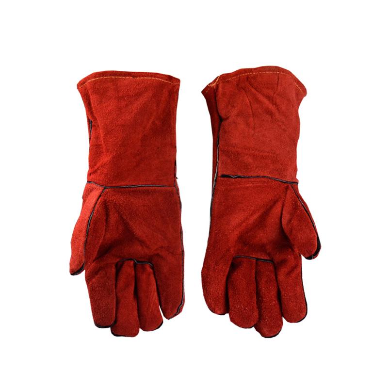 代尔塔 隔热焊工防护手套 205615 性能100℃/15秒