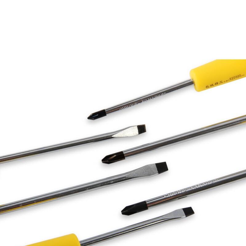 长城精工 6PCS Cr-V双色橡塑柄增强型旋具组套 6pc 288906