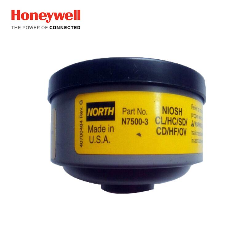 霍尼韦尔 有机蒸汽/酸性气体滤盒 2pcs/pair N75003