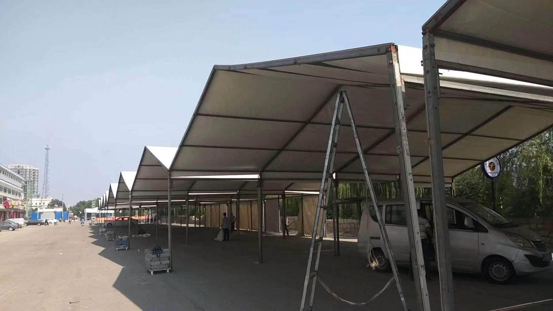 铝合金帐篷 大型蓬房搭建公司