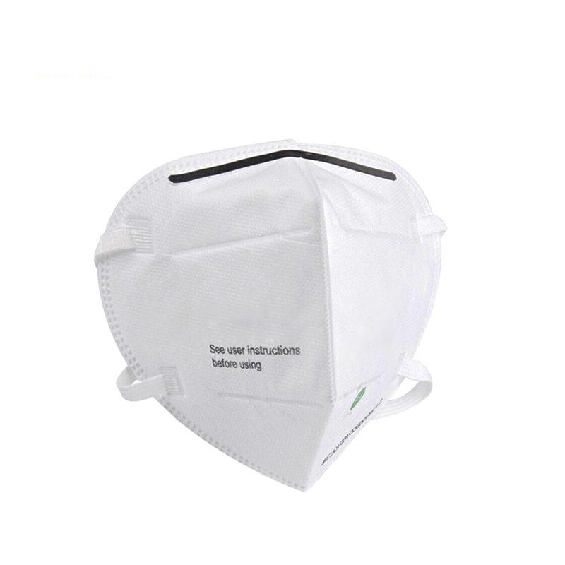 汉盾 KN95防颗粒物口罩 白色 头带式 不带阀(20个/盒) HD8011