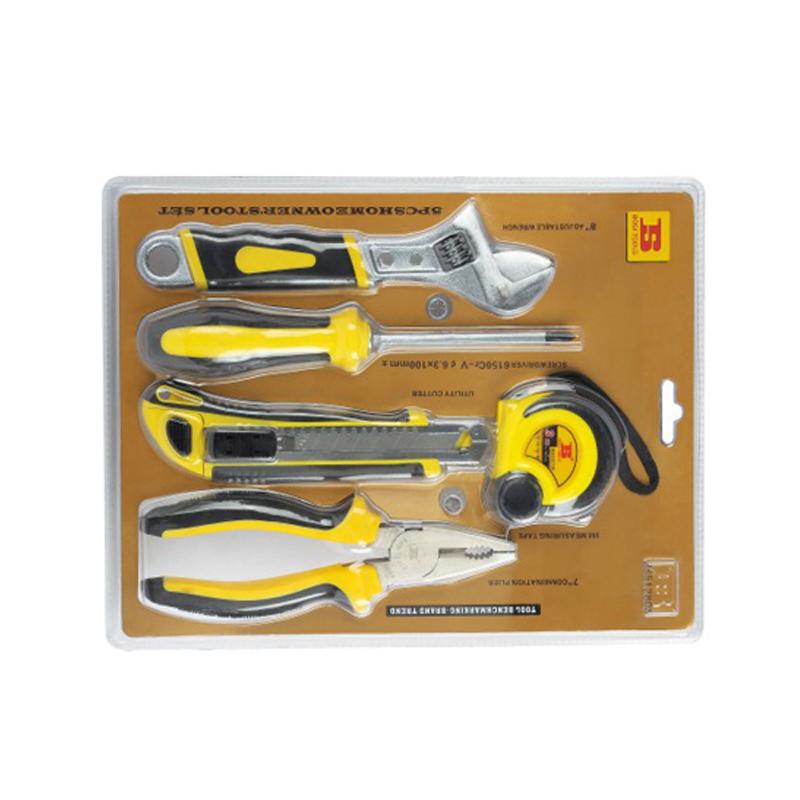 波斯 5件家用套装工具 BS512805