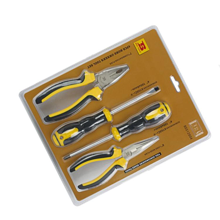 波斯 4件家用套装工具 BS512804