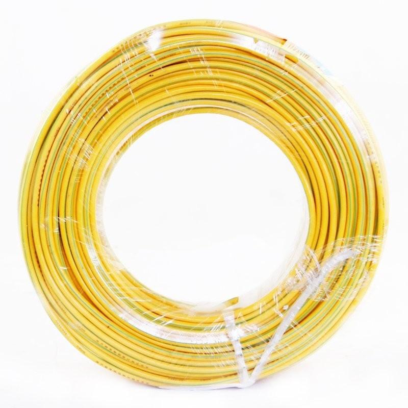 昆仑 低烟无卤塑铜线WDZ-BV 35mm² 黄色