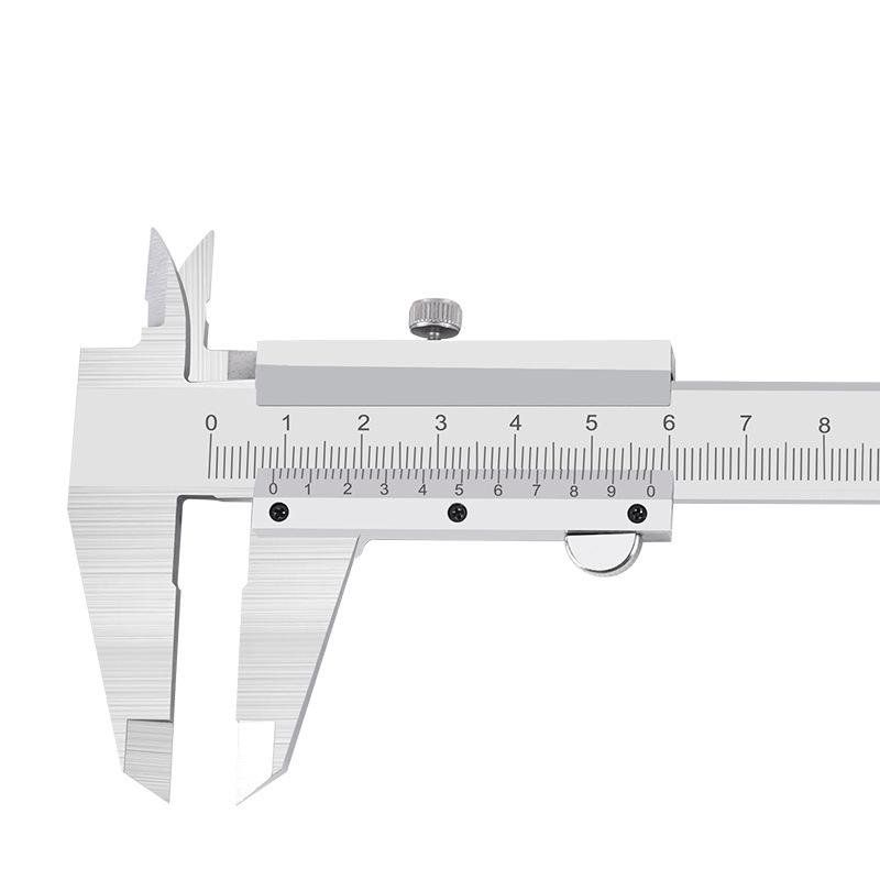 邦特 游标卡尺 带表盘0-300mm 分度值0.02mm 0-300mm