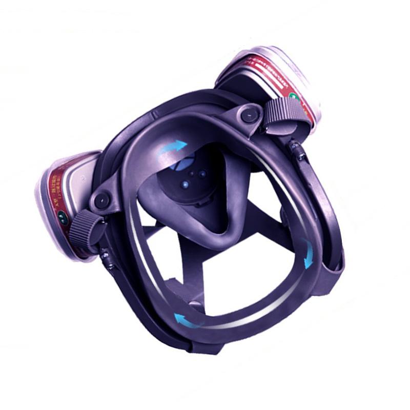 邑固 防毒面具 面罩防雾 A400