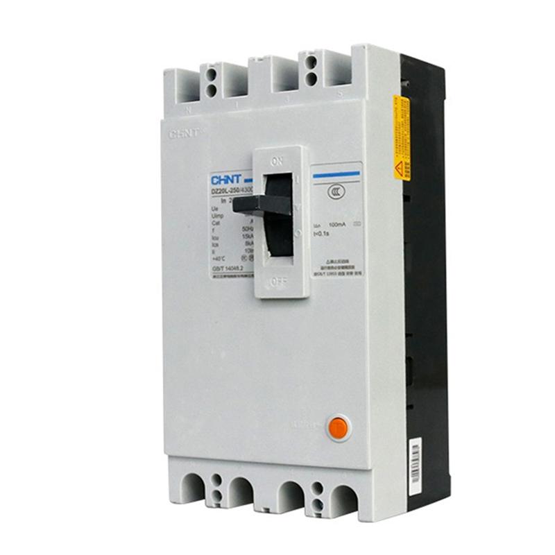 正泰 漏电断路器 电流规格:400A;型号:DZ20L-160/4300;电压:380V;级数:4P