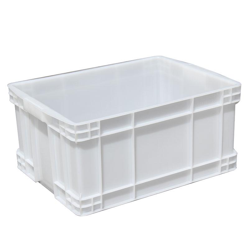 羽佳 长方形物料周转箱 白色520*350*150 3号