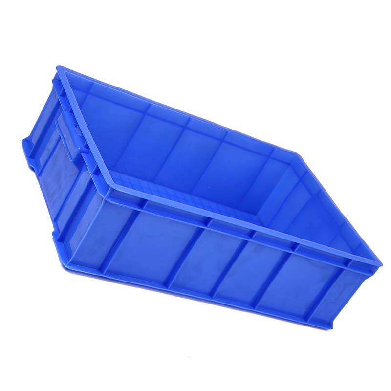 羽佳 长方形物料周转箱 蓝色710*455*180 1号