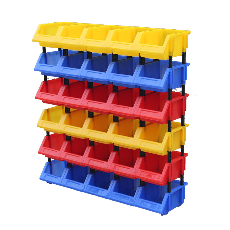 羽佳 斜口塑料零件盒 加厚330*205*140 C5