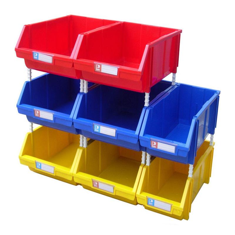 羽佳 斜口塑料零件盒 加厚390*255*150 C4