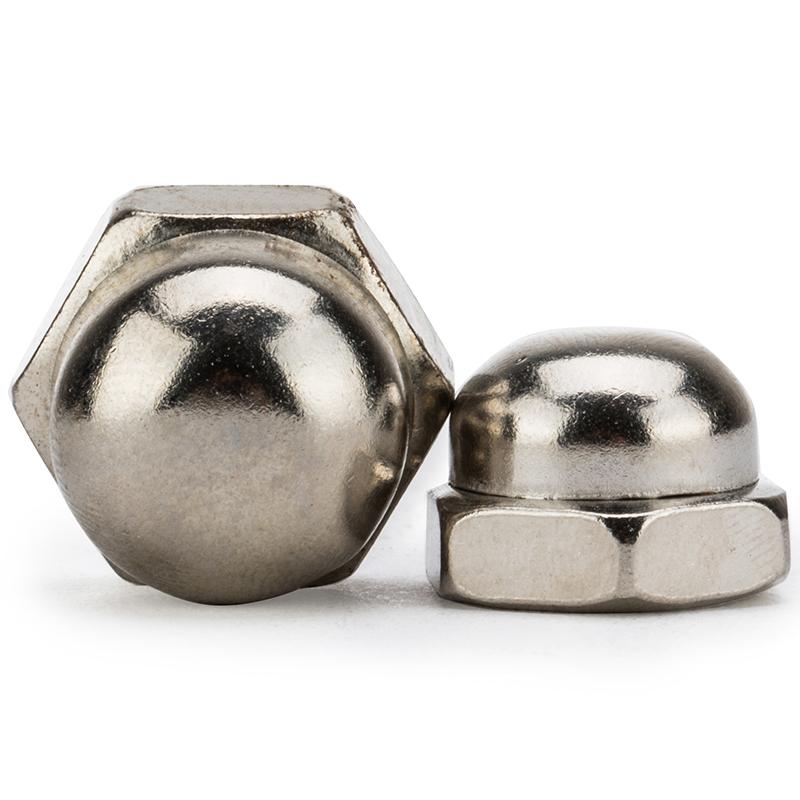 大唐 盖型螺母 不锈钢304球头螺母M8 DIN1587 M8