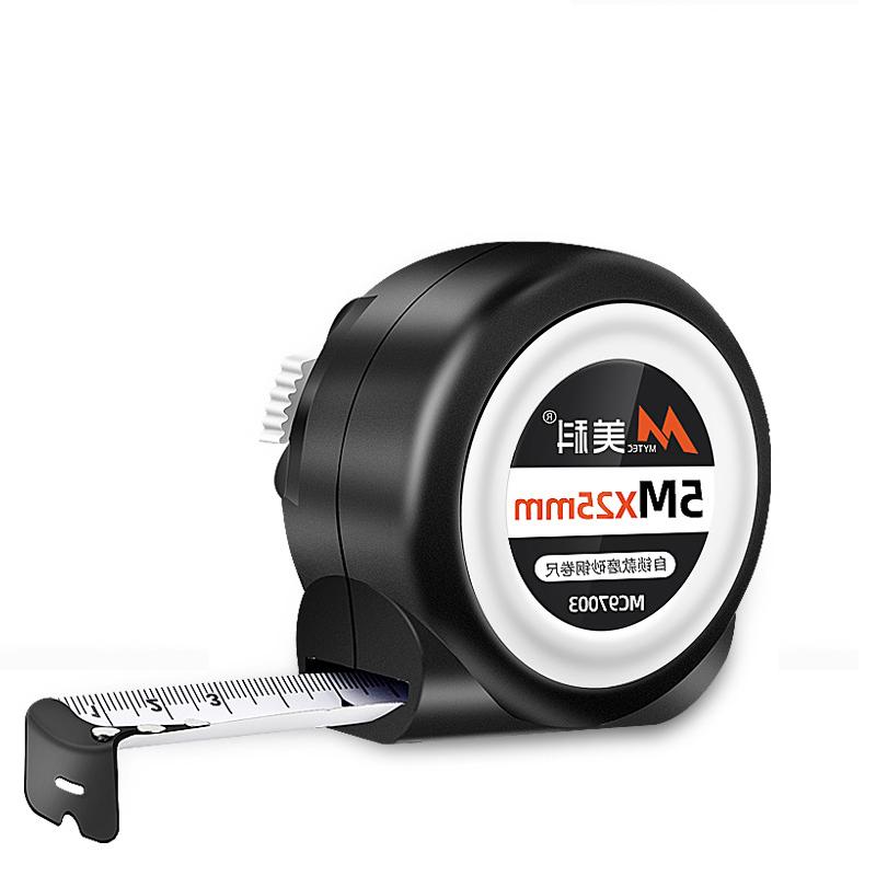 美科 自动锁定卷尺 10m*25mm MC21278