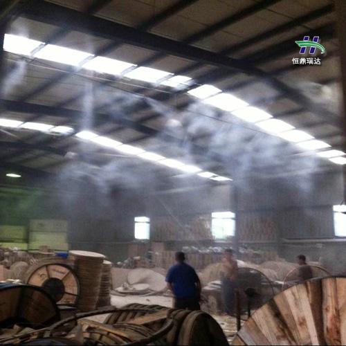 武汉水雾喷雾降尘设备 重庆煤场降尘 2020人造雾