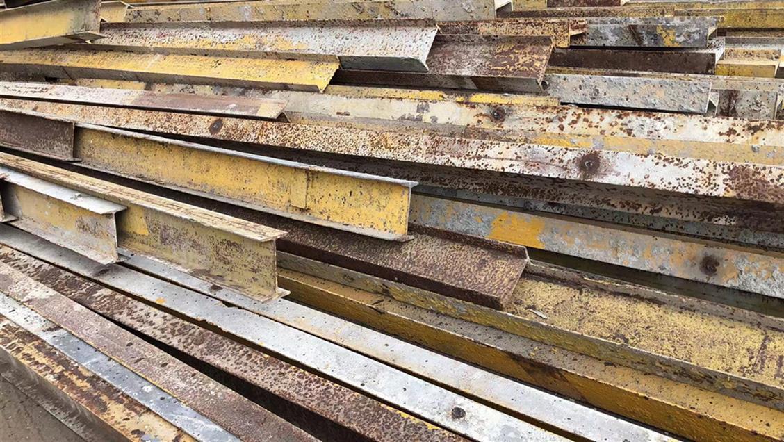 旧工字钢回收,供应旧工字钢回收