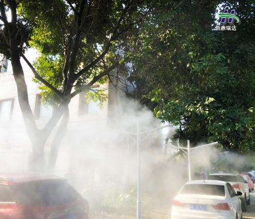 環保水霧除霾 用戶的一致選擇
