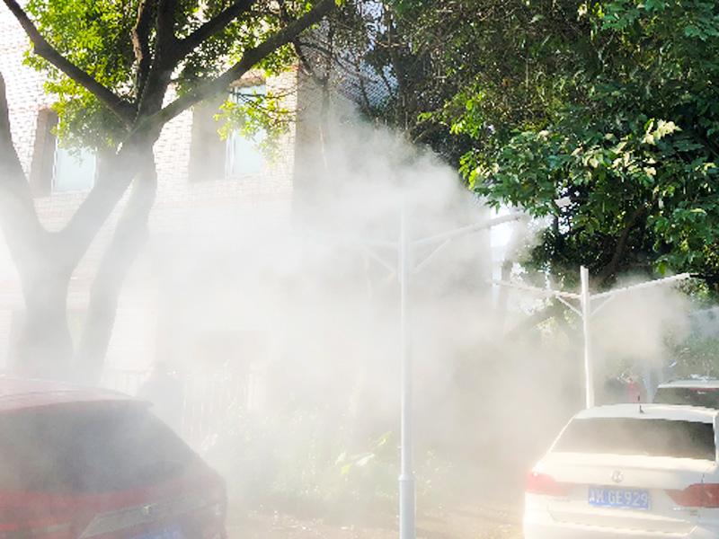 北京环保灯杆除霾设备 灯柱水雾除霾 花一分钟时间了解下这家报价