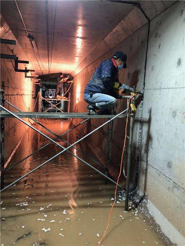 大连地下管廊堵漏公司 老品牌 可信赖