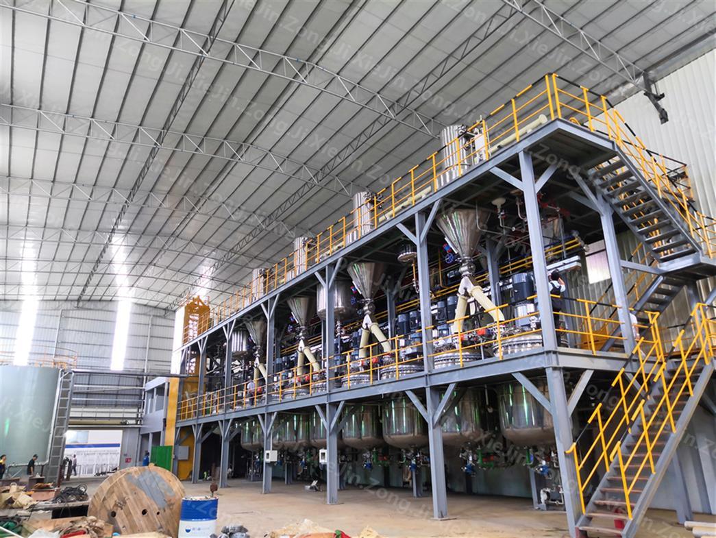 涂料成套生产设备 涂料生产线厂家