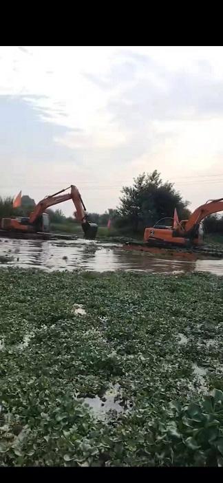 清淤挖掘机械设备租赁 清淤挖机租赁 机械优质且靠谱