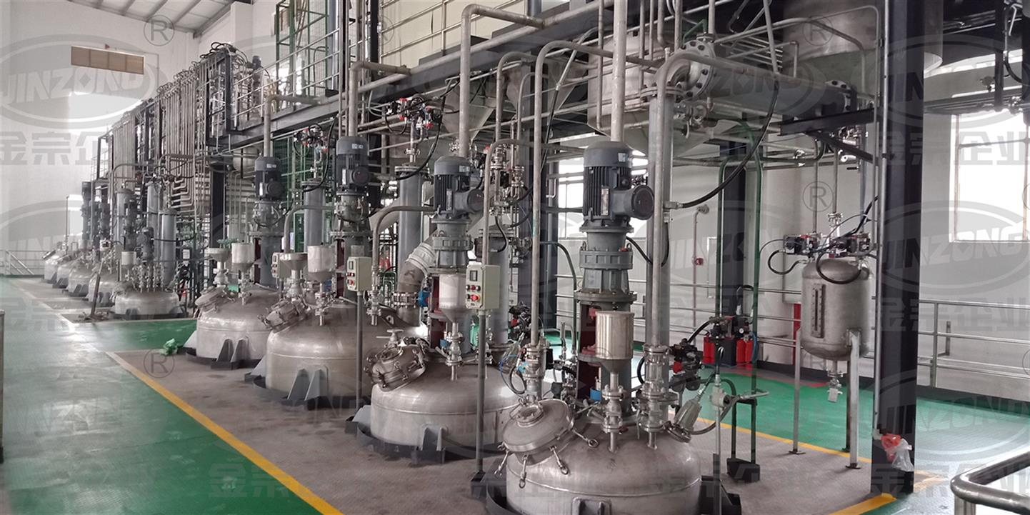 搪瓷合成反应生产线 专业制药设备厂家
