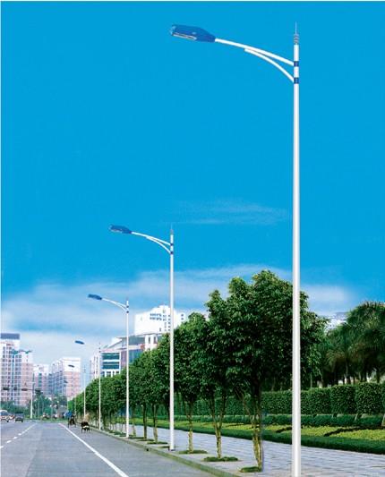 12米LED单臂路灯 江津双头灯 点击进来获取价格