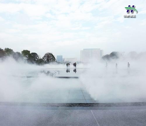 空调室外机喷雾降温 室外喷雾降温 降温喷雾效果如何