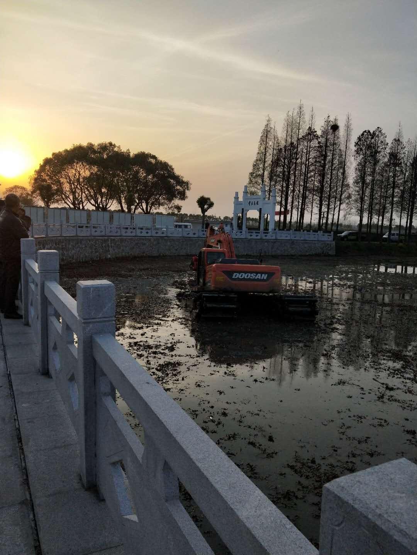 宁波水上挖机出租厂商