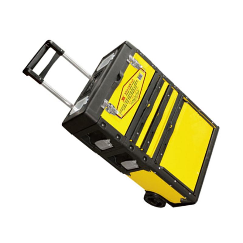 波斯BOSI 拉杆式工具箱,520*320*720mm,BS522288