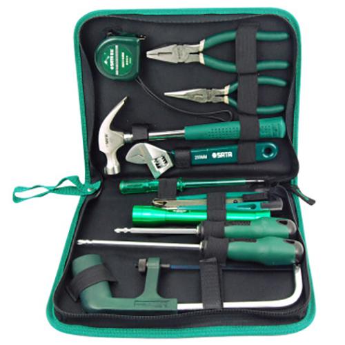 世达维修工具组套,11件套,06003