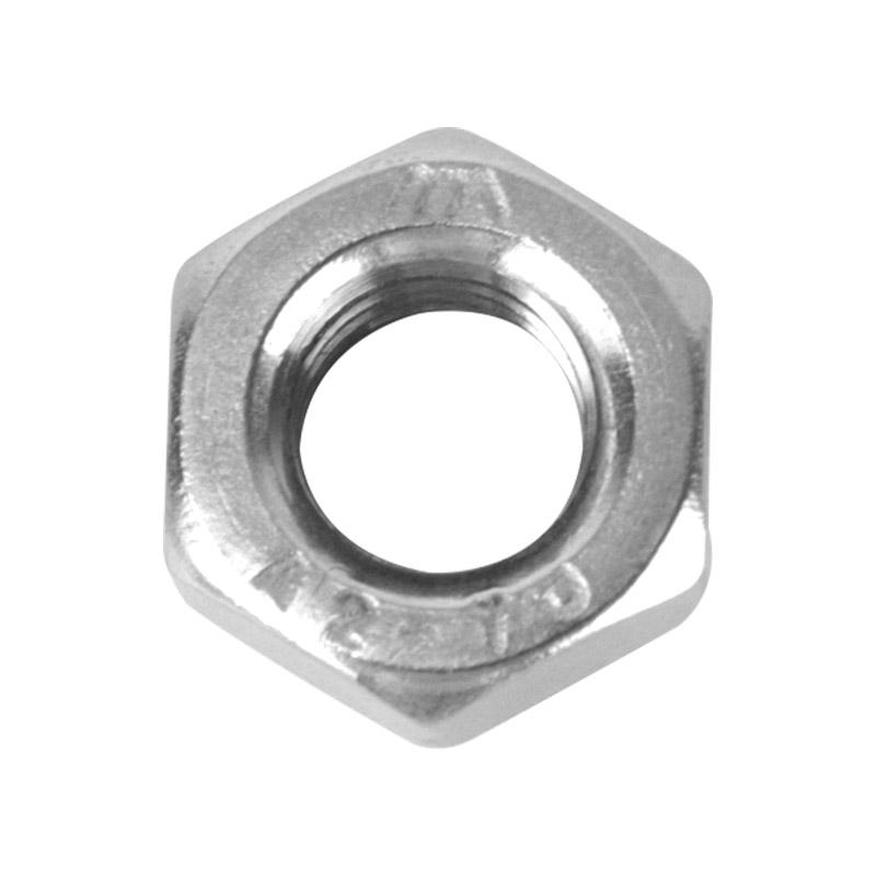 奥峰 六角螺母,DIN934,M6,不锈钢A2,100个/包  DIN934,M6,不锈钢A2,100个/包