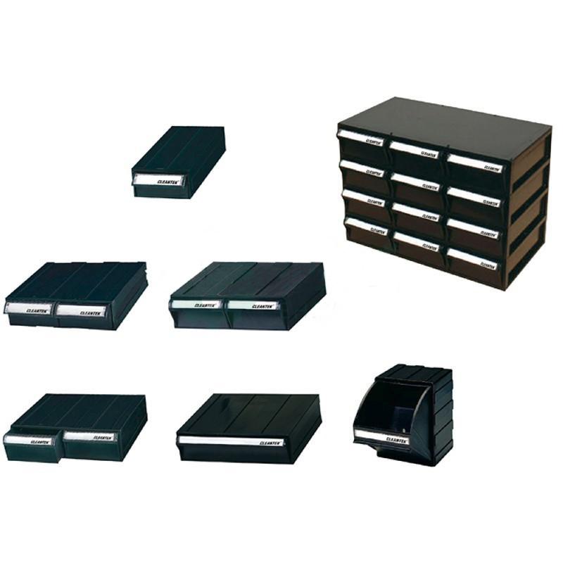 亚速旺(ASONE)防静电部件盒(可拼接) 507C(1个),CC-4629-06