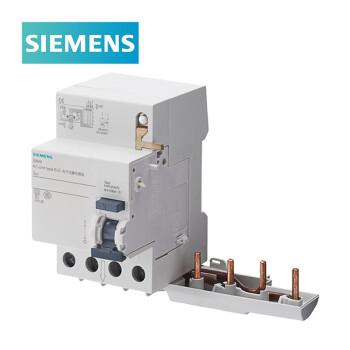 西门子SIEMENS 5SM9 5SN4/5SL4专用漏电保护附件 63A/4P/300mA A型,5SM96466