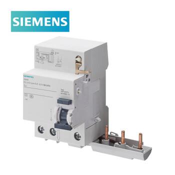 西门子SIEMENS 5SM9 5SN4/5SL4专用漏电保护附件 63A/3P/300mA A型,5SM96366