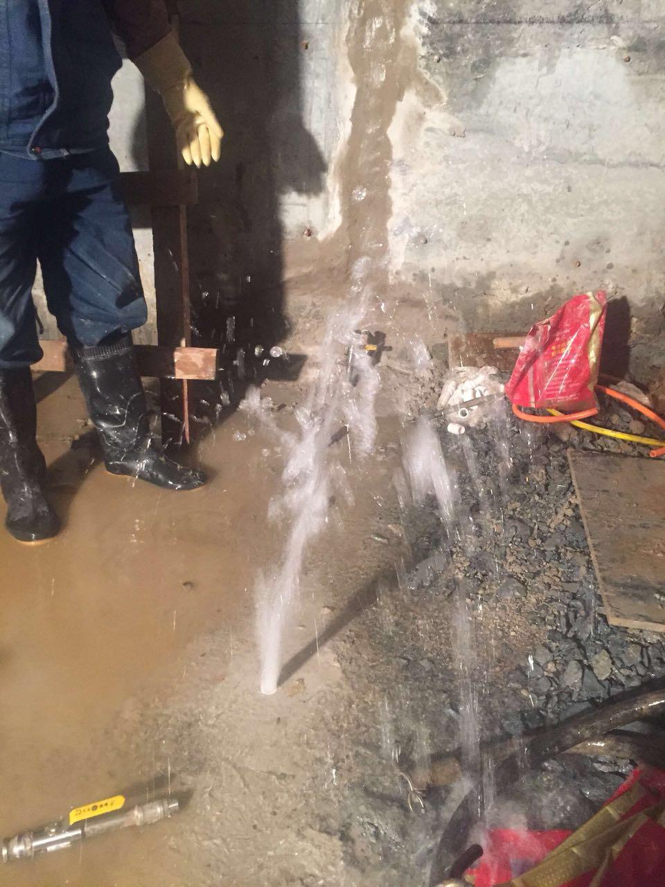 成都正规防水堵漏施工方案 人防工程堵漏