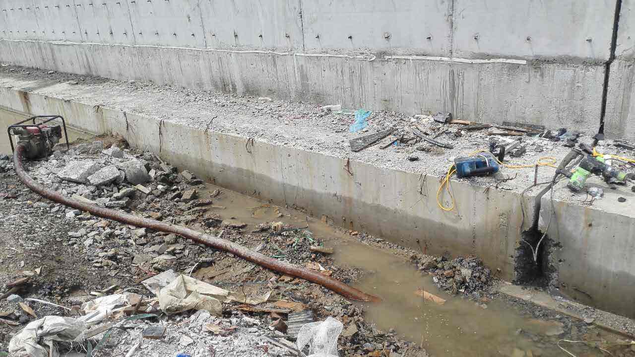 宁波正规防水堵漏厂家 循环水道堵漏