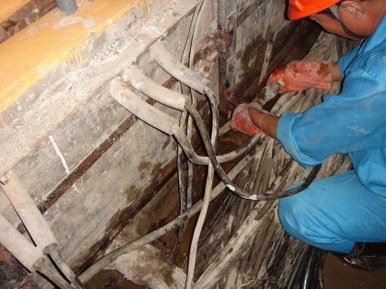 成都专业防水堵漏专业施工 水电站堵漏