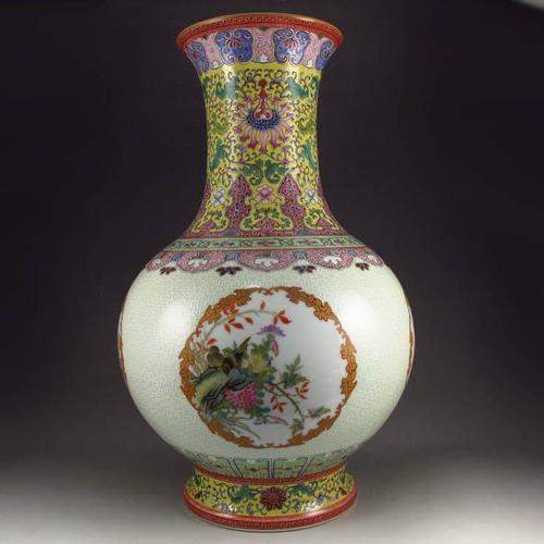 西安清三代乾隆年制瓷器真品圖