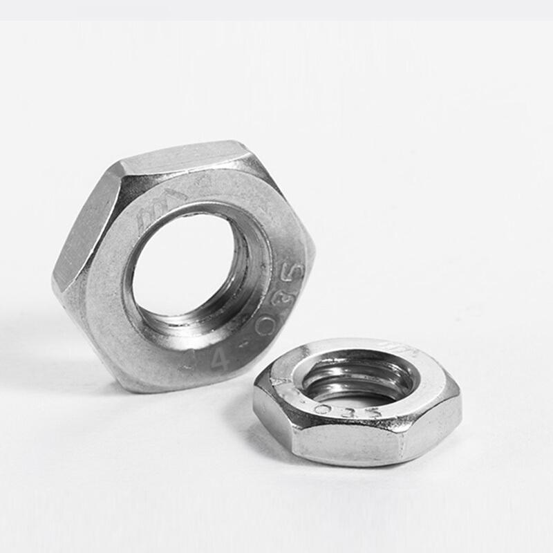 薄螺母,DIN439,M16,不锈钢A2,100个/包