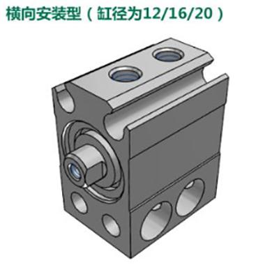 亚德客小型自由安装气缸,MU6X30-S